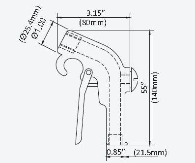 Easy Grip Safety Gun, Safety Air Blowoff Guns, Blowoff Gun, Nex Flow™, Compressed Air